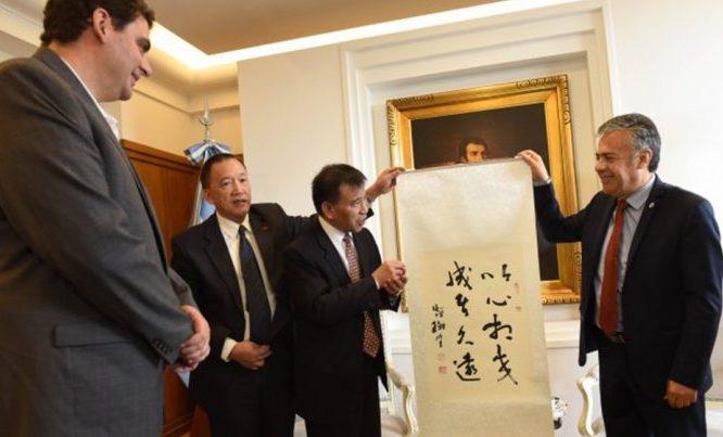 Mendoza avanza en las relaciones comerciales con China