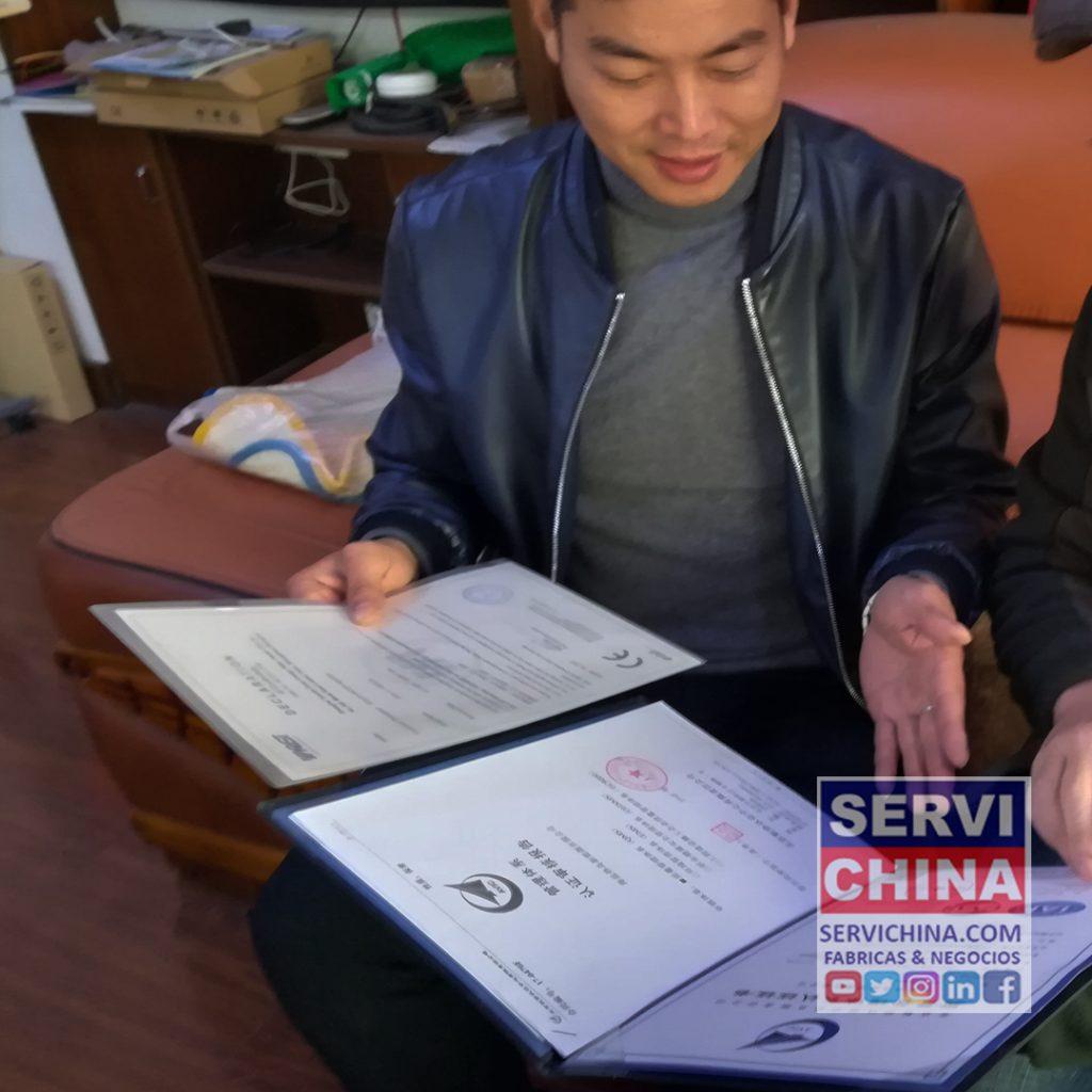 Verificar Proveedores y Fabricas en China